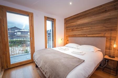 Rent in ski resort 2 room apartment 2 people (ALLEGRIA) - Résidence Androsace du Lyret - Chamonix - Bedroom