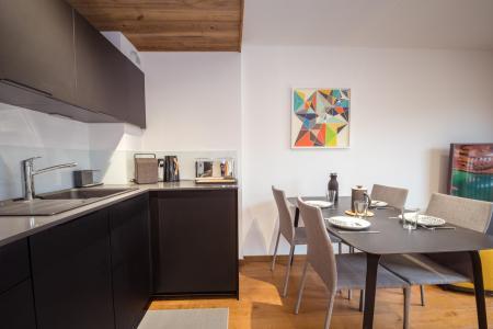 Rent in ski resort 2 room apartment 2 people (ALLEGRIA) - Résidence Androsace du Lyret - Chamonix - Kitchenette