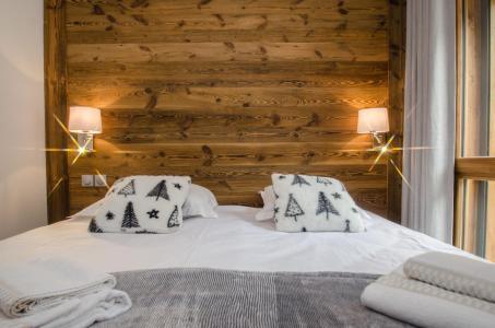 Rent in ski resort 2 room apartment 4 people (JOY) - Résidence Androsace du Lyret - Chamonix - Bedroom