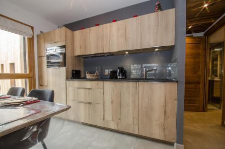 Rent in ski resort 2 room apartment 4 people (JOY) - Résidence Androsace du Lyret - Chamonix - Kitchenette