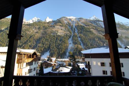 Rent in ski resort Studio mezzanine 4 people (La Poya) - Résidence Bâtiment B - Chamonix