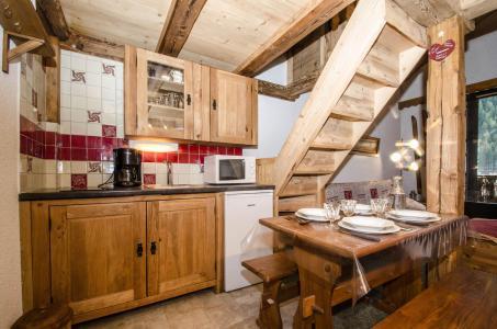 Location au ski Studio mezzanine 4 personnes (La Poya) - Résidence Bâtiment B - Chamonix - Cuisine