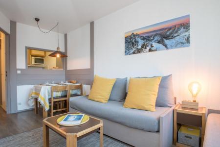 Rent in ski resort 2 room apartment 4 people (CROCUS) - Résidence Chamois Blanc - Chamonix - Apartment