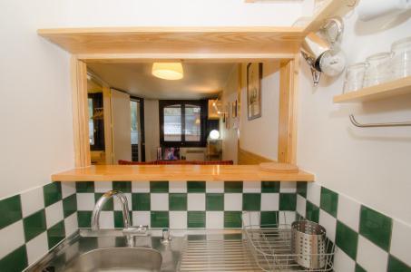 Location au ski Appartement 2 pièces 4 personnes - Residence Chamois Blanc - Chamonix - Banquette