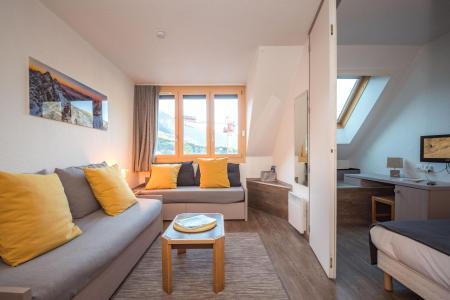 Location au ski Appartement 2 pièces 4 personnes (CROCUS) - Résidence Chamois Blanc - Chamonix - Séjour