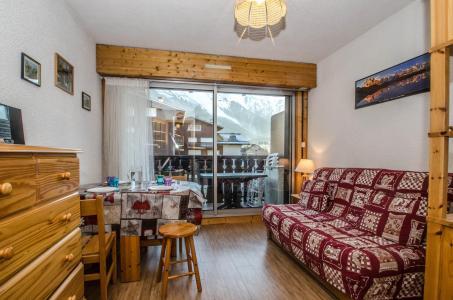 Location au ski Studio 3 personnes (LAURIER) - Résidence Clos du Savoy - Chamonix - Séjour