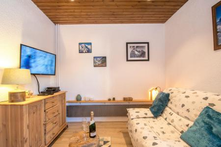 Rent in ski resort 2 room apartment 4 people - Résidence l'Outa - Chamonix - Bed-settee