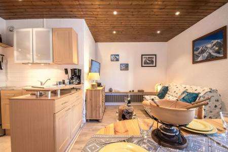 Rent in ski resort 2 room apartment 4 people - Résidence l'Outa - Chamonix - Table