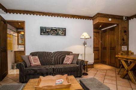 Location au ski Appartement 3 pièces 6 personnes - Residence La Ginabelle - Chamonix - Canapé