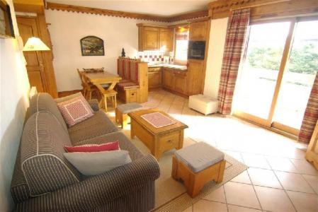 Location au ski Appartement 3 pièces 6 personnes - Residence La Ginabelle - Chamonix - Séjour