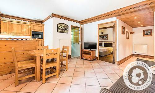 Location au ski Appartement 2 pièces 4 personnes (Prestige 30m²) - Résidence la Ginabelle - Maeva Home - Chamonix - Extérieur hiver