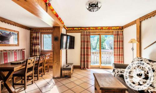 Location au ski Appartement 4 pièces 8 personnes (70m²-1) - Résidence la Ginabelle - Maeva Home - Chamonix - Extérieur hiver