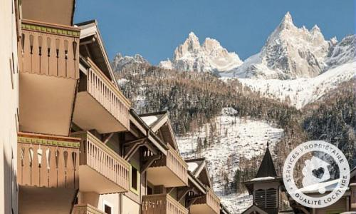 Location au ski Résidence la Ginabelle - Maeva Home - Chamonix - Extérieur hiver