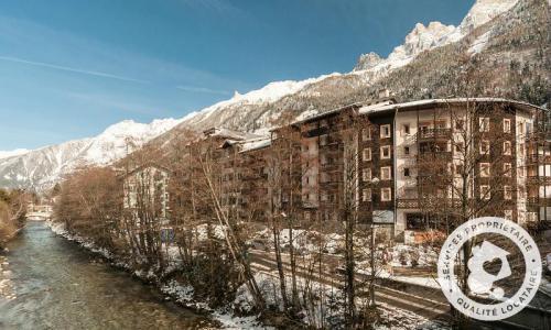 Location au ski Résidence la Rivière - Maeva Home - Chamonix - Extérieur hiver