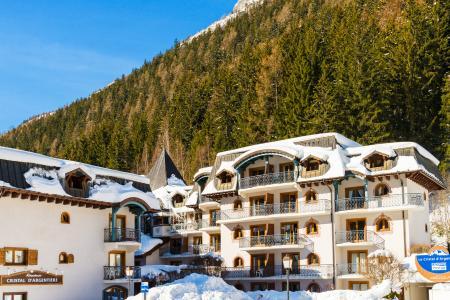 Location au ski Residence Lagrange Le Cristal D'argentiere - Chamonix - Extérieur hiver