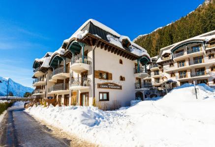 Location Chamonix : Résidence Lagrange le Cristal d'Argentière hiver