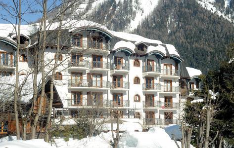 Location au ski Résidence Lagrange le Cristal d'Argentière - Chamonix - Extérieur hiver