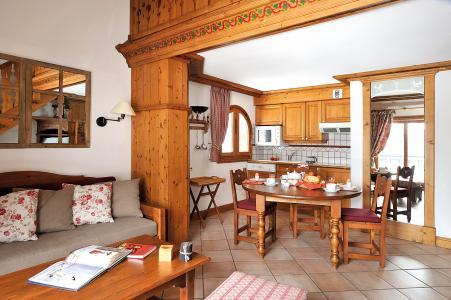 Location au ski Residence Lagrange Le Cristal D'argentiere - Chamonix - Coin repas