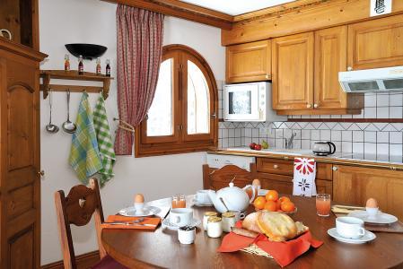 Location au ski Residence Lagrange Le Cristal D'argentiere - Chamonix - Cuisine