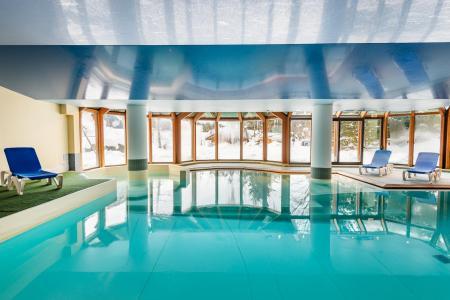Location au ski Résidence Lagrange le Cristal d'Argentière - Chamonix - Piscine
