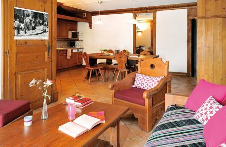 Location au ski Residence Lagrange Le Cristal D'argentiere - Chamonix - Séjour