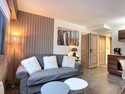 Location au ski Appartement 2 pièces 4 personnes (Opus) - Résidence le Clos du Savoy - Chamonix - Canapé