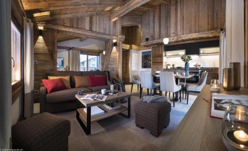 Location au ski Résidence le Cristal de Jade - Chamonix - Canapé