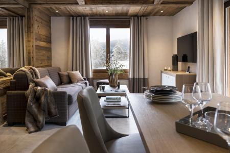 Location au ski Résidence le Cristal de Jade - Chamonix - Salle à manger