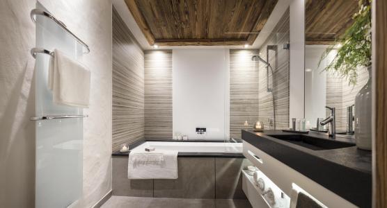 Location au ski Résidence le Cristal de Jade - Chamonix - Salle de bains