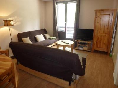 Location au ski Appartement 2 pièces cabine 6-6 personnes - Residence Le Triolet - Chamonix - Coin séjour
