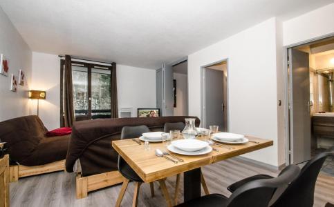 Location au ski Appartement 2 pièces cabine 6-6 personnes - Residence Le Triolet - Chamonix - Séjour