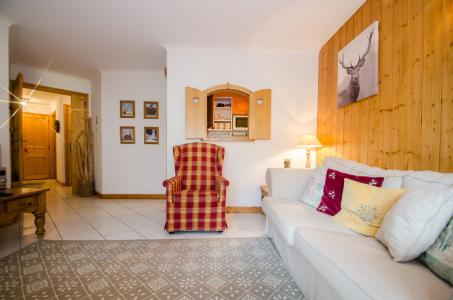 Location au ski Appartement 3 pièces 4-5 personnes (Simba) - Résidence les Chalets du Savoy - Kashmir - Chamonix - Séjour