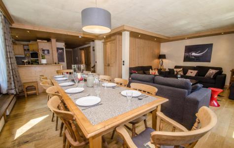 Location au ski Appartement duplex 6 pièces 10-12 personnes (Kashmir) - Résidence les Chalets du Savoy - Kashmir - Chamonix - Cuisine