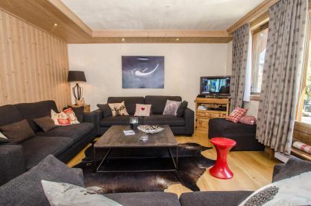 Location au ski Appartement duplex 6 pièces 10-12 personnes (Kashmir) - Résidence les Chalets du Savoy - Kashmir - Chamonix - Séjour