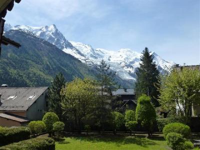 Location au ski Appartement 2 pièces 4 personnes - Residence Les Chalets Du Savoy - Orchidee - Chamonix - Balcon