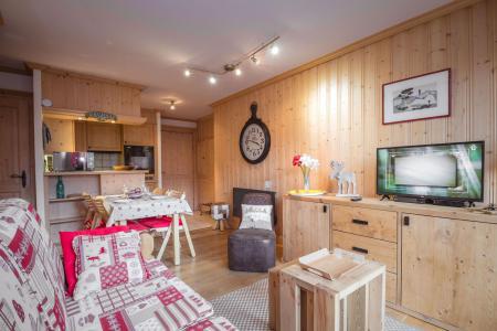 Location au ski Appartement 2 pièces 4 personnes - Residence Les Chalets Du Savoy - Orchidee - Chamonix - Séjour