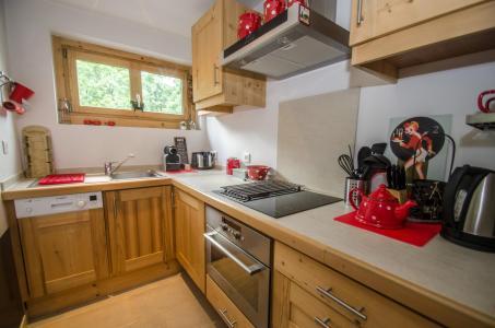 Location au ski Appartement 3 pièces 5-5 personnes - Residence Lyret 1 - Chamonix - Cuisine ouverte
