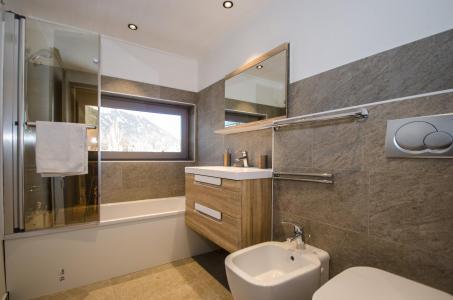 Rent in ski resort 2 room apartment 4 people - Résidence Lyret - Chamonix - Bath-tub