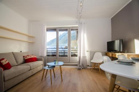 Rent in ski resort 2 room apartment 5 people - Résidence Lyret - Chamonix - Living room