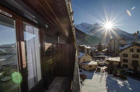 Rent in ski resort 2 room apartment 5 people - Résidence Lyret - Chamonix - Winter outside