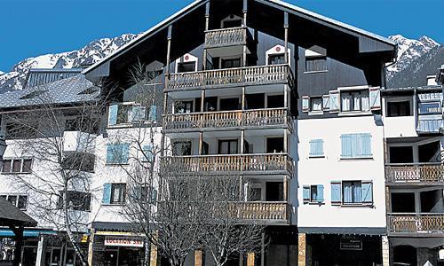 Location Chamonix : Residence Maeva Le Chamois Blanc hiver