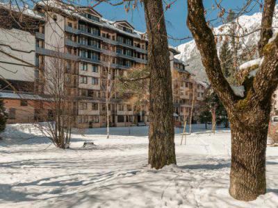 Location au ski Résidence Maeva le Chamois Blanc - Chamonix - Extérieur hiver