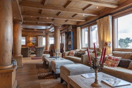 Location au ski Résidence P&V Premium la Ginabelle - Chamonix - Réception