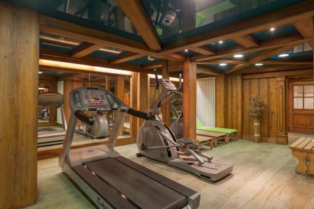 Location au ski Résidence P&V Premium la Ginabelle - Chamonix - Espace fitness