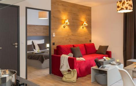 Rent in ski resort Résidence Prestige Isatis - Chamonix - Living room