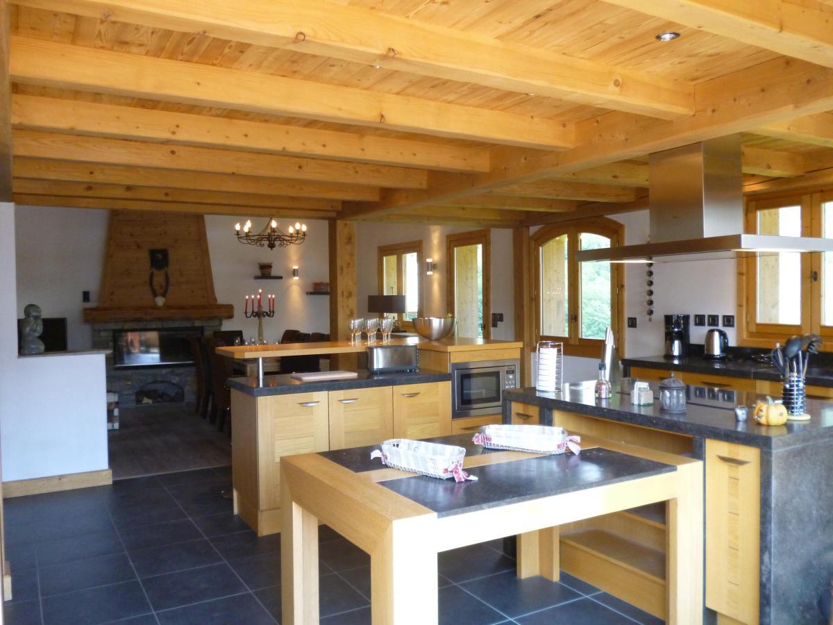 Location au ski Chalet 6 pièces 14 personnes - Chalet Blanche Neige - Champagny-en-Vanoise - Cuisine