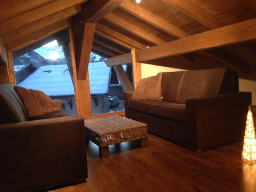 Location au ski Chalet 6 pièces 14 personnes - Chalet Blanche Neige - Champagny-en-Vanoise - Mezzanine