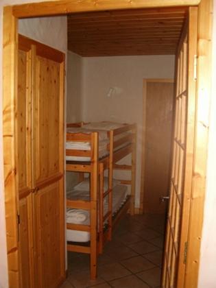 Location au ski Appartement 2 pièces coin montagne 6 personnes - Chalet Cote Arbet - Champagny-en-Vanoise - Lits superposés