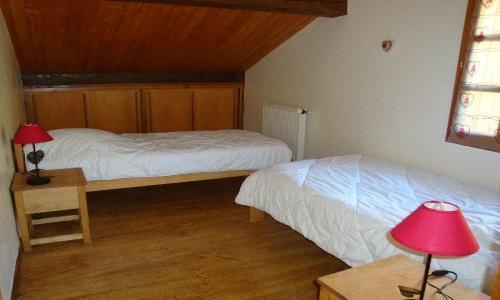 Location au ski Appartement 2 pièces 4 personnes - Chalet Estelann - Champagny-en-Vanoise - Chambre