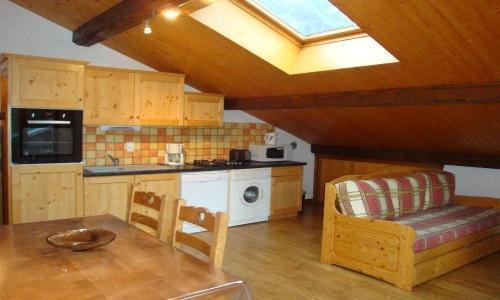 Location au ski Appartement 2 pièces 4 personnes - Chalet Estelann - Champagny-en-Vanoise - Kitchenette